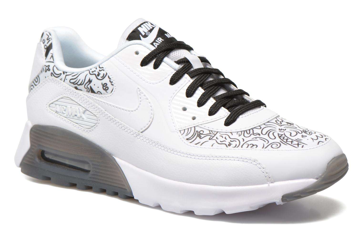 W Air Max 90 Ultra Print White/white-Black