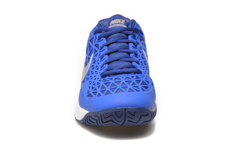Chaussures de sport Nike Wmns Nike Zoom Cage 2 Eu Bleu vue portées chaussures