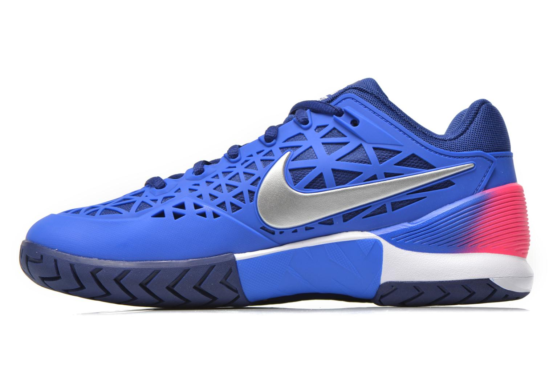 Chaussures de sport Nike Wmns Nike Zoom Cage 2 Eu Bleu vue face