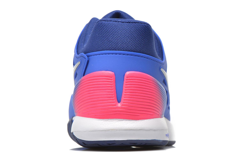 Chaussures de sport Nike Wmns Nike Zoom Cage 2 Eu Bleu vue droite