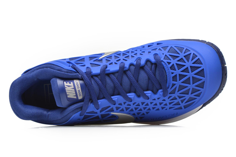 Chaussures de sport Nike Wmns Nike Zoom Cage 2 Eu Bleu vue gauche