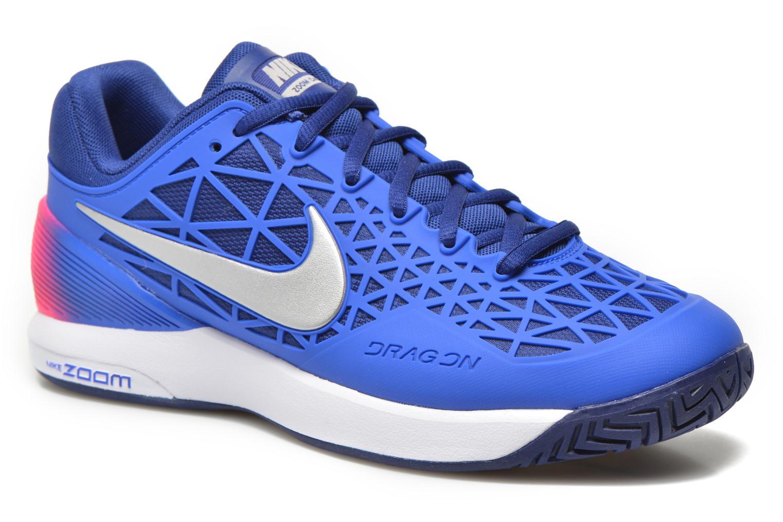 Chaussures de sport Nike Wmns Nike Zoom Cage 2 Eu Bleu vue détail/paire