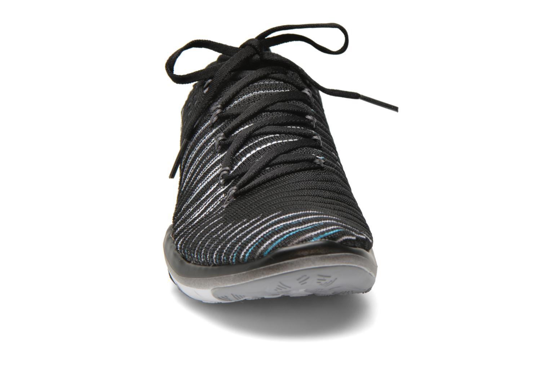 Chaussures de sport Nike Wm Nike Free Transform Flyknit Noir vue portées chaussures