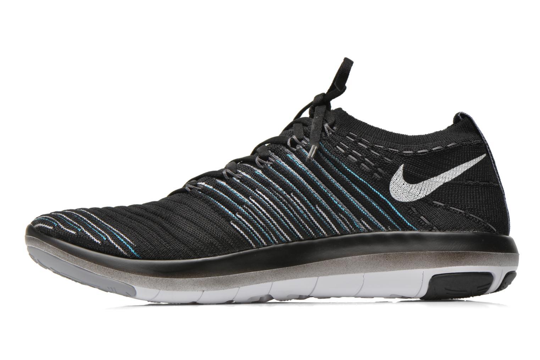 Chaussures de sport Nike Wm Nike Free Transform Flyknit Noir vue face
