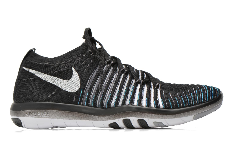 Sport shoes Nike Wm Nike Free Transform Flyknit Black back view