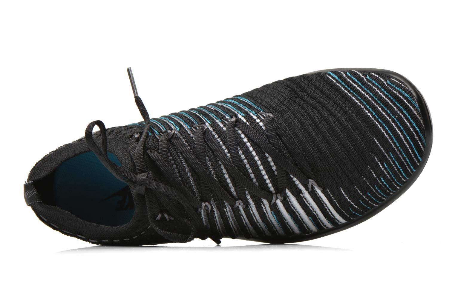 Sport shoes Nike Wm Nike Free Transform Flyknit Black view from the left