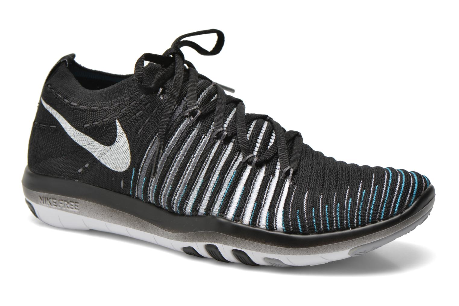 Nike Wm Nike Free Transform Flyknit Nike Sport shoes Women Black/White Wolf Grey Drk Grey