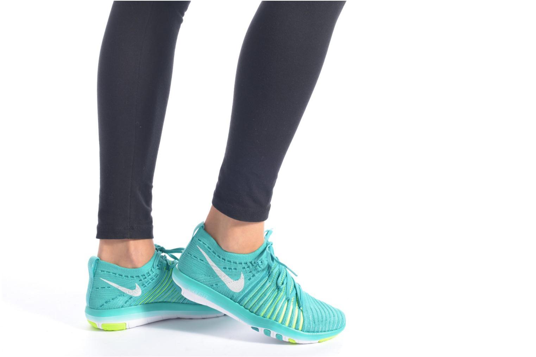 Sportssko Nike Wm Nike Free Transform Flyknit Sort se forneden