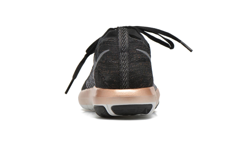 Sportssko Nike Wm Nike Free Transform Flyknit Sort Se fra højre