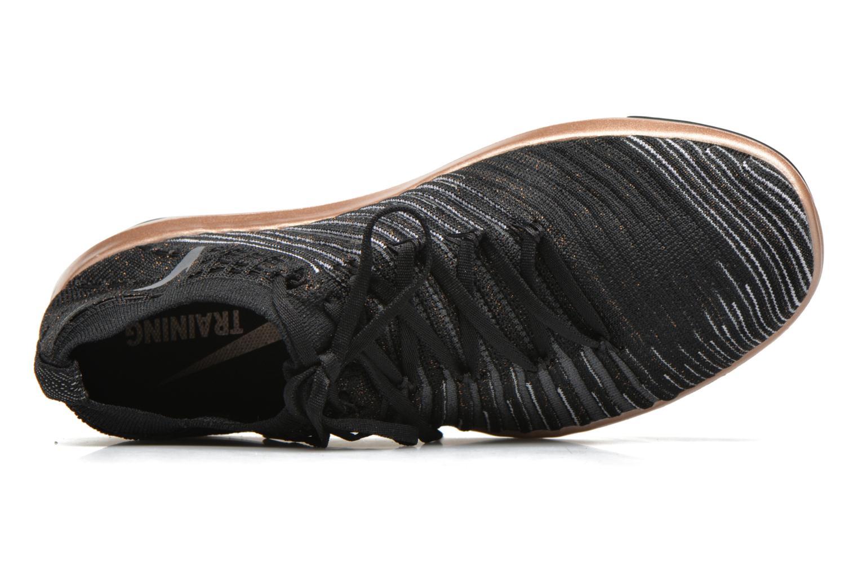 Sportssko Nike Wm Nike Free Transform Flyknit Sort se fra venstre