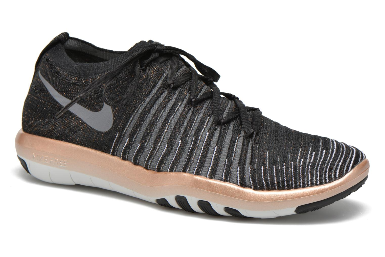 Sportssko Nike Wm Nike Free Transform Flyknit Sort detaljeret billede af skoene