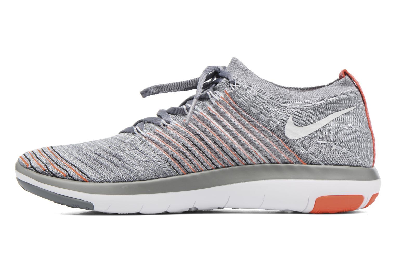 Sportschuhe Nike Wm Nike Free Transform Flyknit grau ansicht von vorne