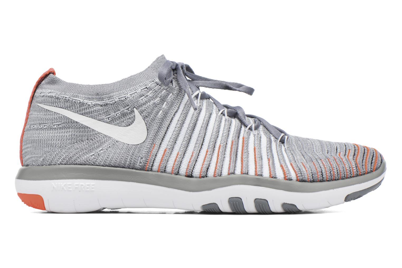 Sportschuhe Nike Wm Nike Free Transform Flyknit grau ansicht von hinten