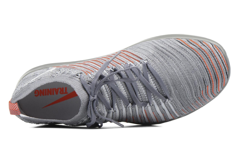 Sportschuhe Nike Wm Nike Free Transform Flyknit grau ansicht von links