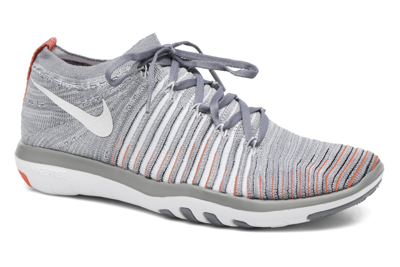 Wm Nike Free Transform Flyknit Cool Grey/Pure Platinum-Total Crimson