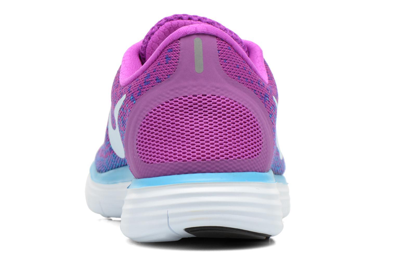 Chaussures de sport Nike Wmns Nike Free Rn Distance Violet vue droite