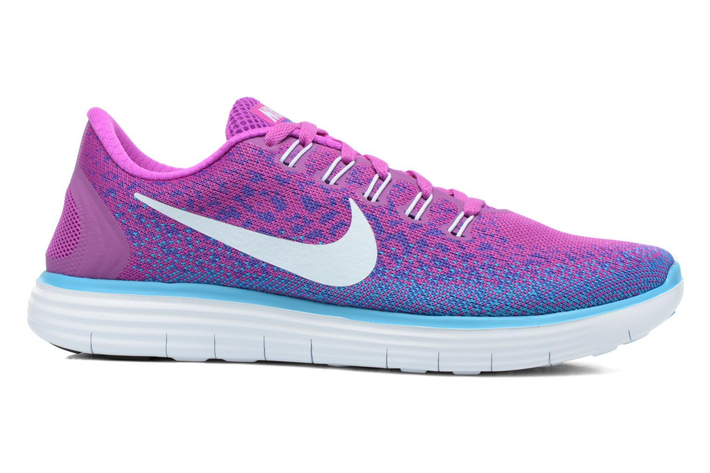 Chaussures de sport Nike Wmns Nike Free Rn Distance Violet vue derrière