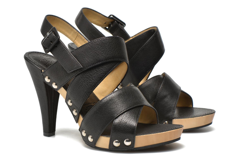 Sandals Free Lance Farah 7 Sandal Black 3/4 view