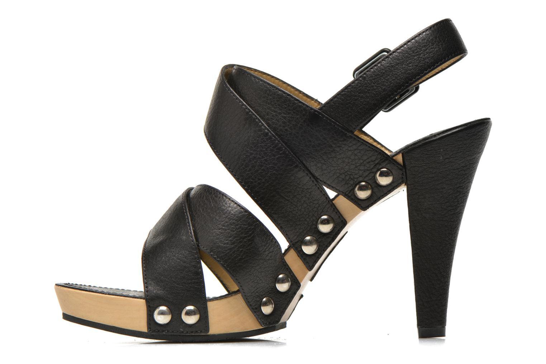 Sandalen Free Lance Farah 7 Sandal schwarz ansicht von vorne