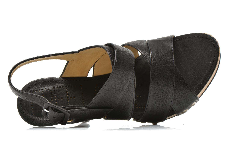 Sandales et nu-pieds Free Lance Farah 7 Sandal Noir vue gauche