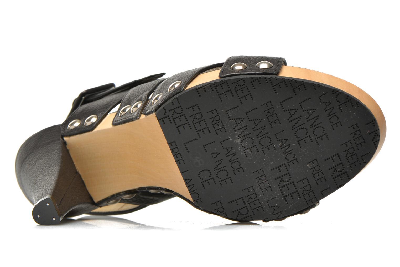Sandalen Free Lance Farah 7 Sandal schwarz ansicht von oben