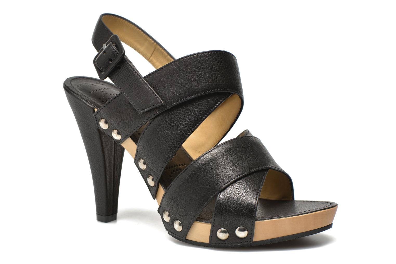 Sandales et nu-pieds Free Lance Farah 7 Sandal Noir vue détail/paire