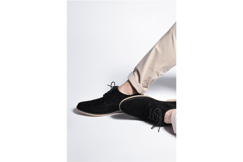 Schnürschuhe I Love Shoes SUPERBES schwarz ansicht von unten / tasche getragen