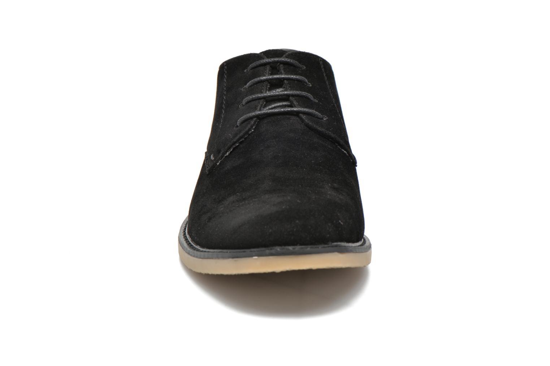 Schnürschuhe I Love Shoes SUPERBES schwarz schuhe getragen