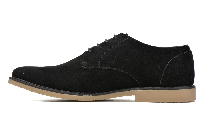 Snörade skor I Love Shoes SUPERBES Svart bild från framsidan