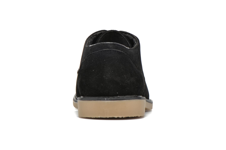 Snörade skor I Love Shoes SUPERBES Svart Bild från höger sidan