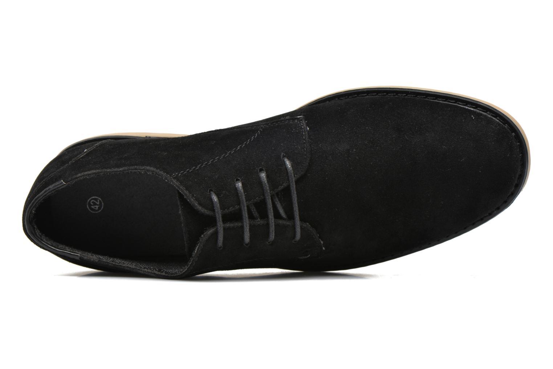 Snörade skor I Love Shoes SUPERBES Svart bild från vänster sidan