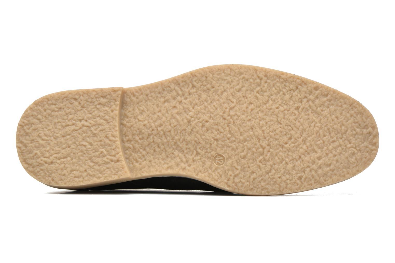 Snörade skor I Love Shoes SUPERBES Svart bild från ovan