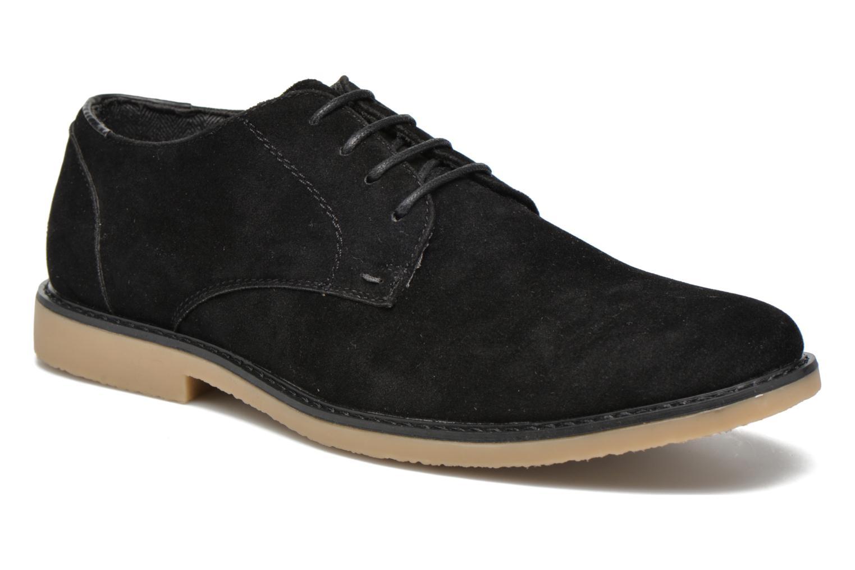 Snörade skor I Love Shoes SUPERBES Svart detaljerad bild på paret
