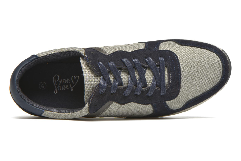 Sneaker I Love Shoes SUPERVISE grau ansicht von links