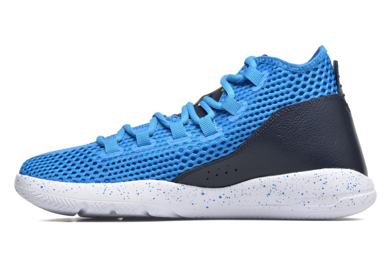 Zapatos con cordones Jordan Jordan Reveal Azul vista de frente