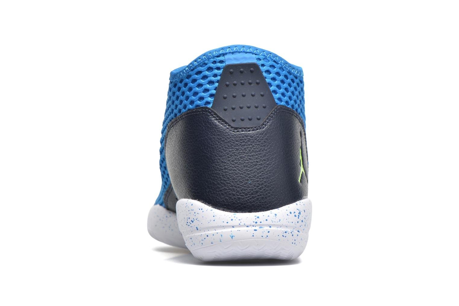 Lace-up shoes Jordan Jordan Reveal Blue view from the right