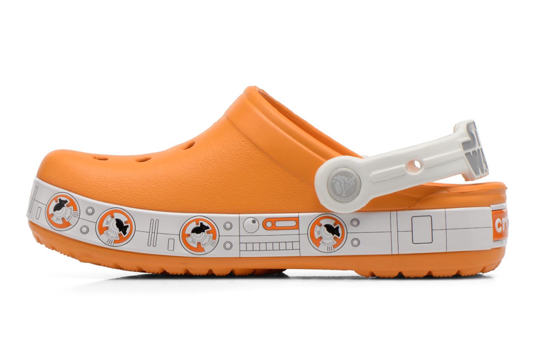Sandalias Crocs CB Star Wars Hero Clog K Naranja vista de frente