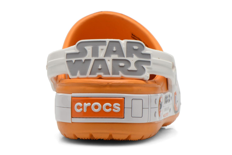 Sandalias Crocs CB Star Wars Hero Clog K Naranja vista lateral derecha