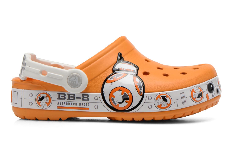 Sandalias Crocs CB Star Wars Hero Clog K Naranja vistra trasera