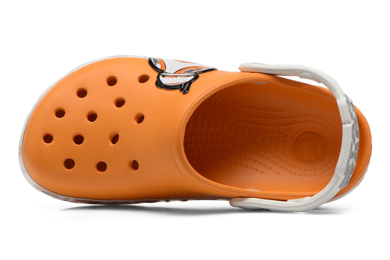 Sandales et nu-pieds Crocs CB Star Wars Hero Clog K Orange vue gauche