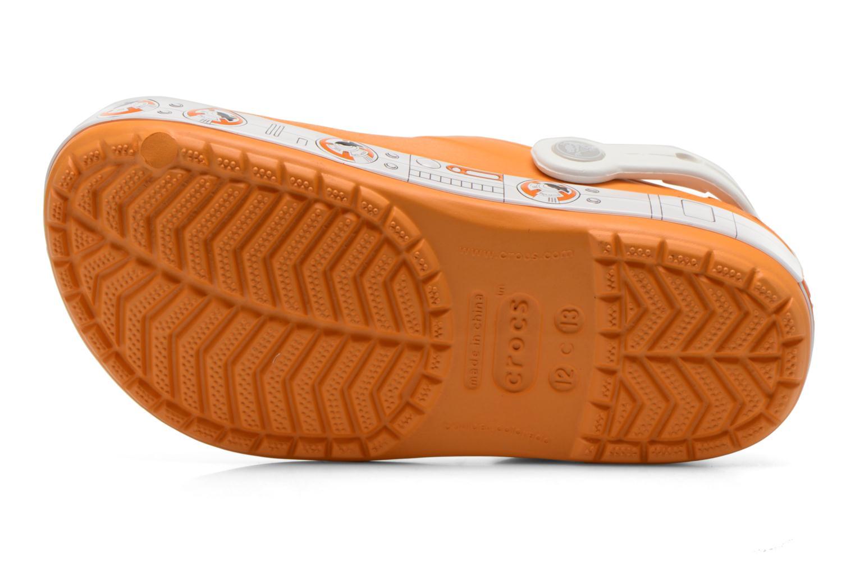 Sandales et nu-pieds Crocs CB Star Wars Hero Clog K Orange vue haut