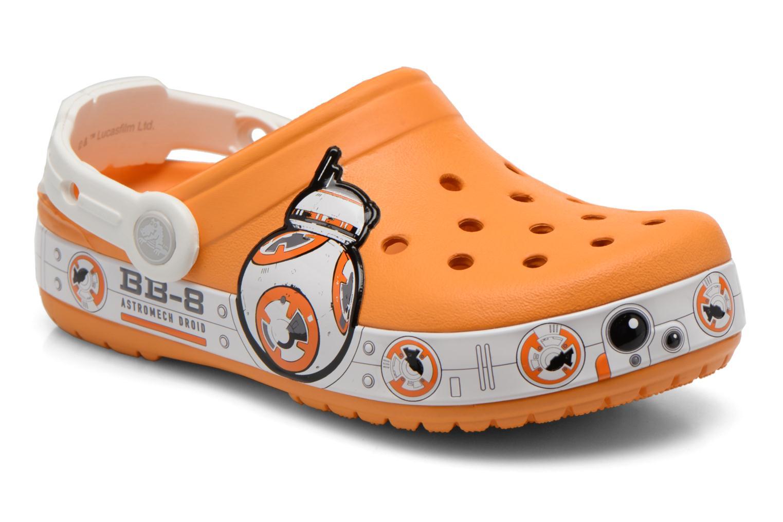 Sandalias Crocs CB Star Wars Hero Clog K Naranja vista de detalle / par