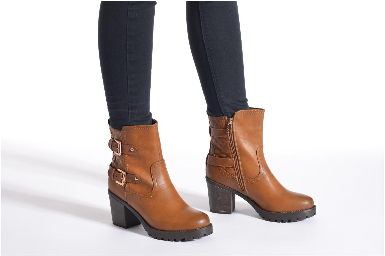 Stiefeletten & Boots Xti Analia-28730 weinrot ansicht von unten / tasche getragen