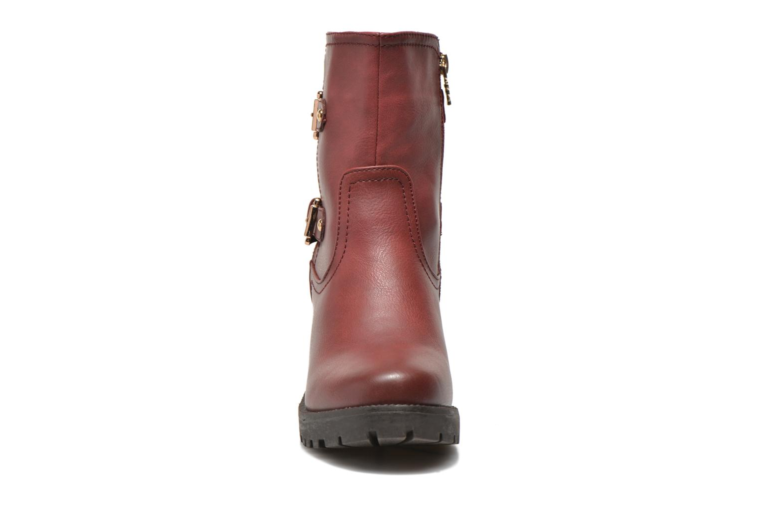 Ankle boots Xti Analia-28730 Burgundy model view