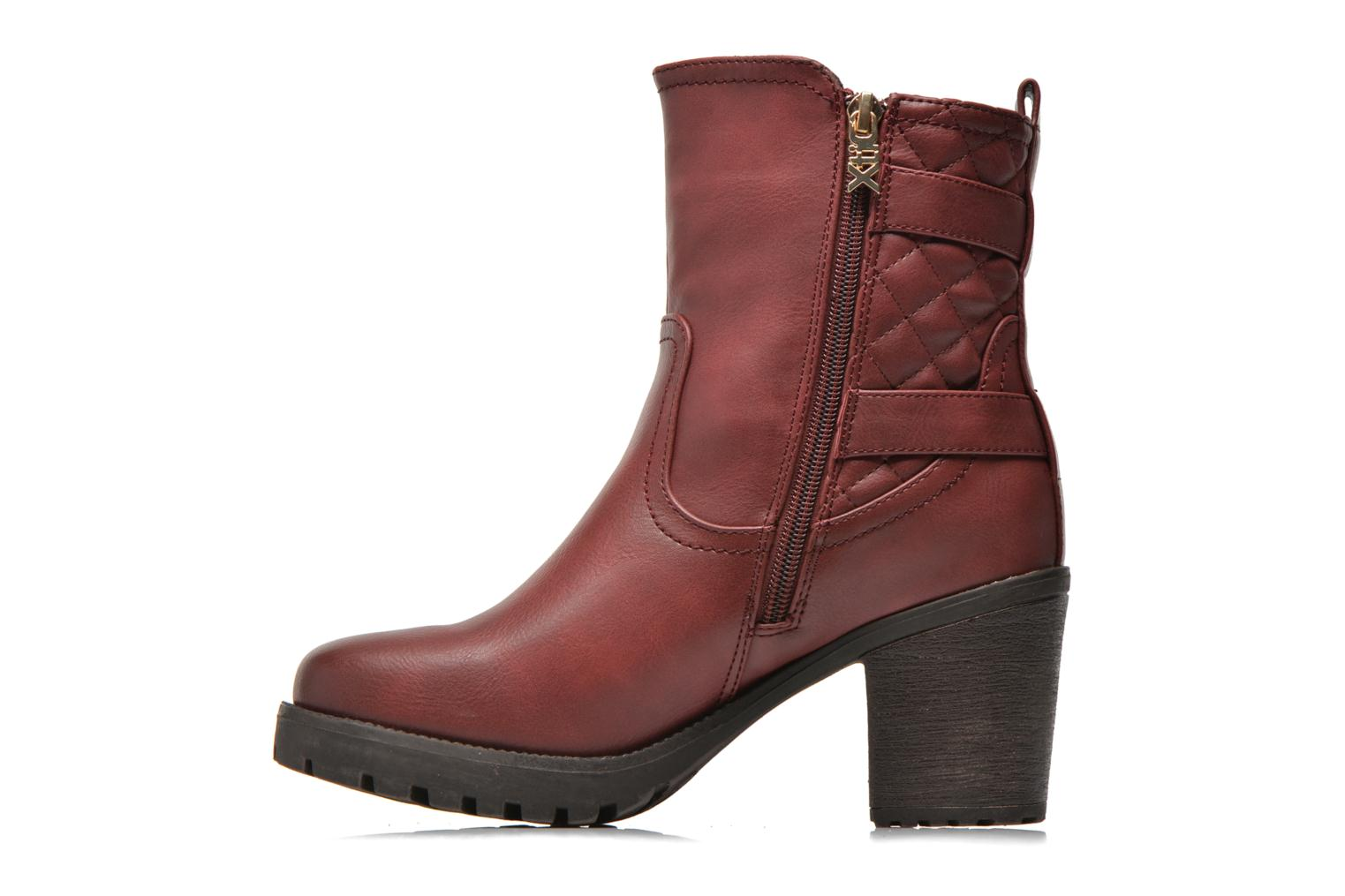 Ankle boots Xti Analia-28730 Burgundy front view