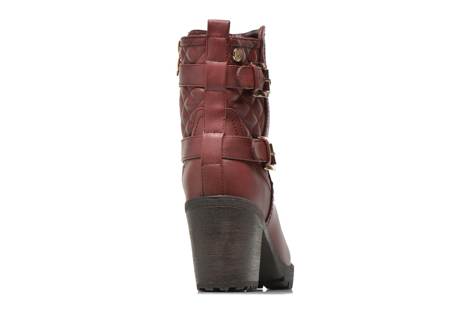 Ankle boots Xti Analia-28730 Burgundy view from the right