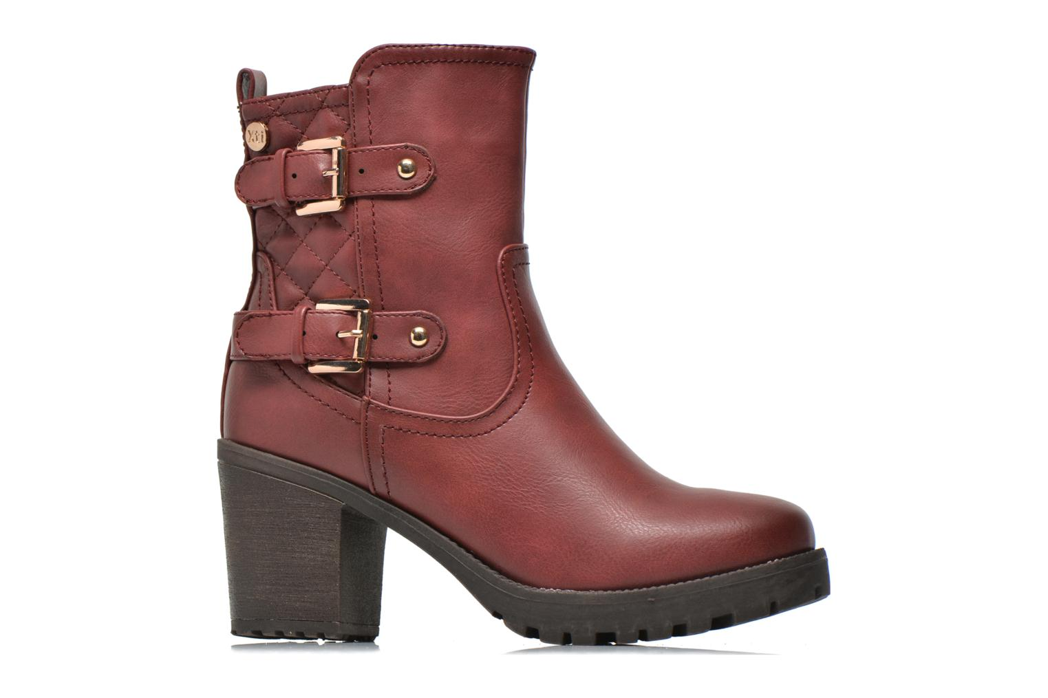 Ankle boots Xti Analia-28730 Burgundy back view