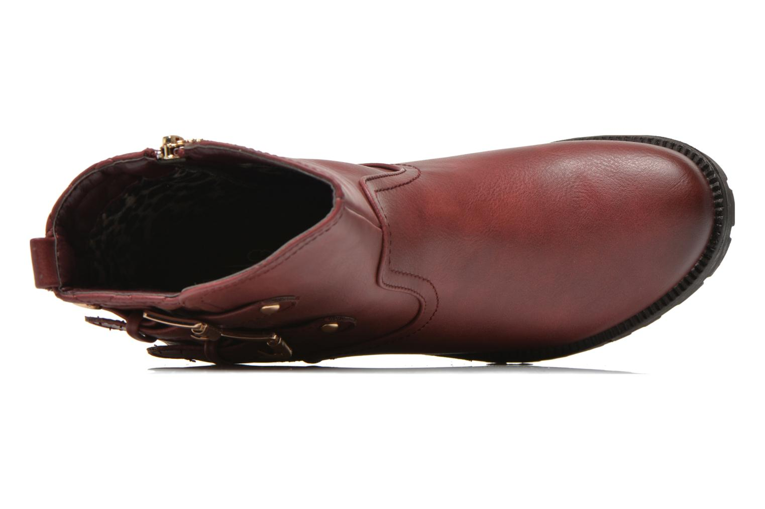 Ankle boots Xti Analia-28730 Burgundy view from the left