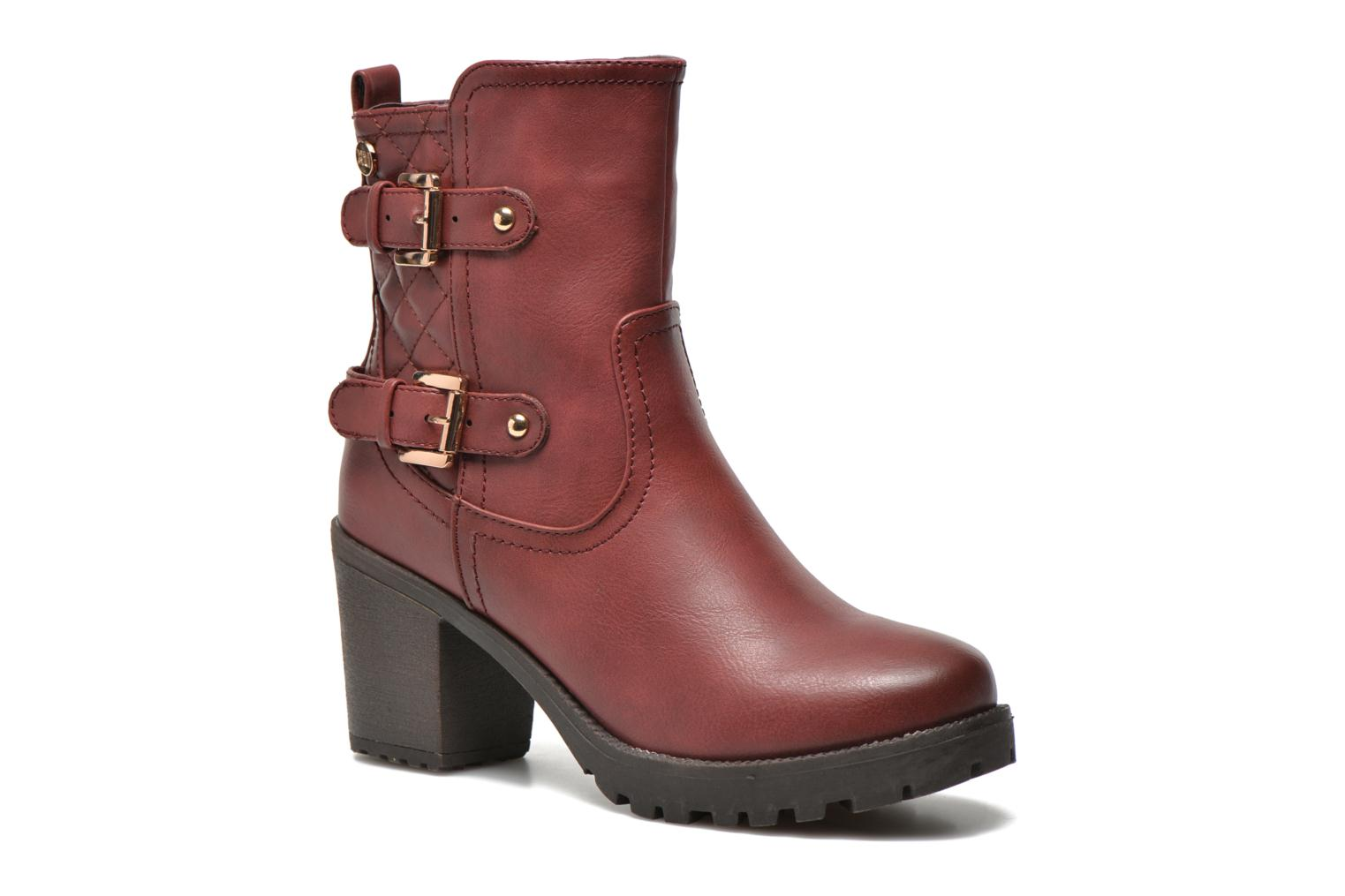 Ankle boots Xti Analia-28730 Burgundy detailed view/ Pair view