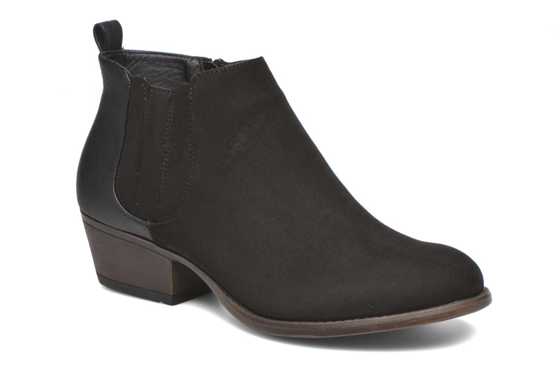 Bottines et boots I Love Shoes THESARD Noir vue détail/paire